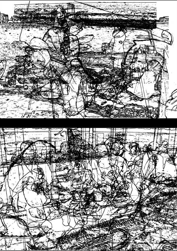 16-Ebtesam Ahmed,Untitled,2008, Photographs- mounted on aluminium,70x50 cm