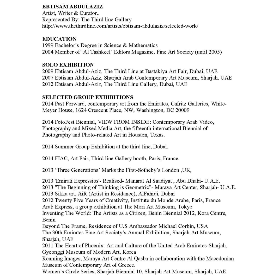 EBTISAM ABDULAZIZ, CV0_Page_1